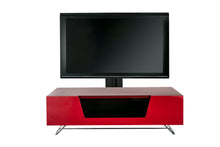 Steel frame Sturdy Legs Medium TV Cabinet Red