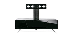 Steel frame Sturdy Legs Medium TV Cabinet Black 1