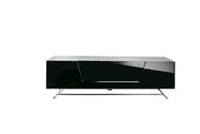 Steel frame Sturdy Legs Medium TV Cabinet Black 6