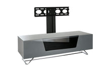 Steel frame Sturdy Legs Medium TV Cabinet Grey 5
