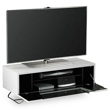 Steel Legs IR Friendly Door TV Stand-7