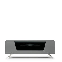 Steel Legs IR Friendly Door TV Stand GREY-4