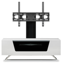 Steel Legs IR Friendly Door TV Stand-6