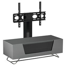 Steel Legs IR Friendly Door TV Stand GREY-3