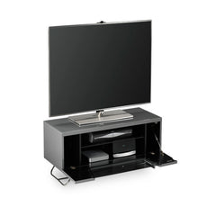 Steel Legs IR Friendly Door TV Stand GREY