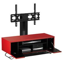 Steel Legs IR Friendly Door TV Stand-10