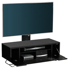 Steel Legs IR Friendly Door TV Stand Black-1