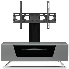 Steel Legs IR Friendly Door TV Stand GREY-6