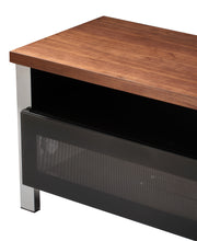 Steel Legs With Single Open And covered Shelf TV Stand-1
