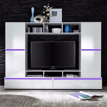 Texas Entertainment Wall Unit with Shelving-10