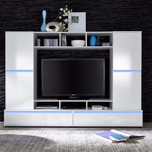Texas Entertainment Wall Unit with Shelving-6