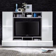 Texas Entertainment Wall Unit with Shelving-8