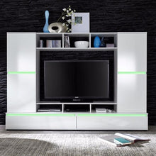 Texas Entertainment Wall Unit with Shelving-9