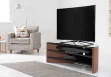 Toughened Glass Surface Curved TV Stand-11