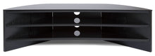 Toughened Glass Surface Curved TV Stand-6