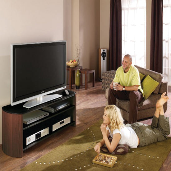 Triple Shelves Passive Ventilation Strong TV Stand