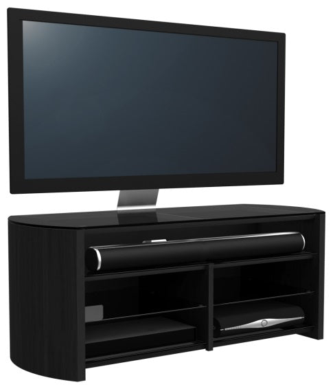 Two Shelf With Sound bar Ready TV Stand