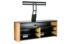Two Shelf With Sound bar Ready TV Stand-7