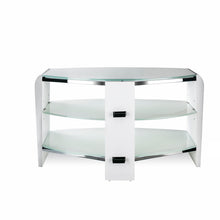 White Finish Bigger Size TV Stand