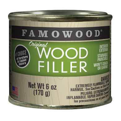 FAMOWOOD Original Wood Filler (6oz)