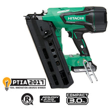 Hitachi NR1890 Cordless Framing Nailer w/ 2 free additional batteries