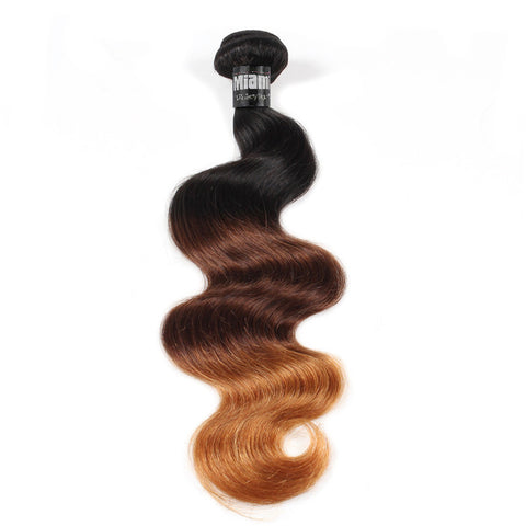 Brazilian Hair REMY 100% Natural Hair OMBRE T3 Body Wave