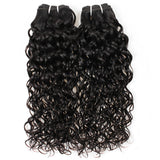 Bundle 2 pcs Brazilian Hair REMY 100% Natural Hair Water Wave
