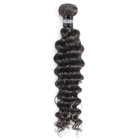 Brazilian Hair REMY 100% Natural Hair Weave Deep Wave
