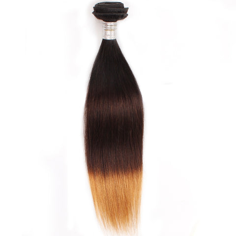 Brazilian Hair REMY 100% Natural Hair OMBRE T3 Straight