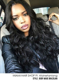 Lace Frontal Brazilian 100% REMY Hair Body Wave