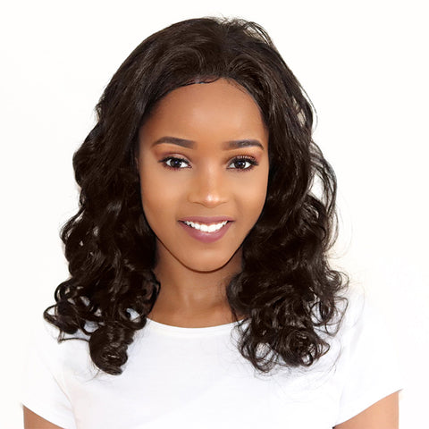Front Lace 100% Brazilian REMY | Loose Wave Virgin Hair |
