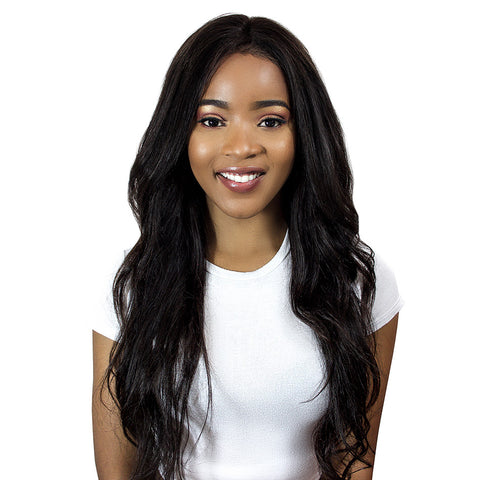 MHS® Deluxe Front Lace 100% Brazilian REMY Virgin Hair / Skin Effect™