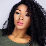 Front Lace 100% Brazilian REMY | Kinky Curly Virgin Hair |