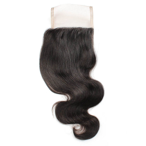 Tissage - Closure Brazilian REMY Hair Natural Body Wave Free Style