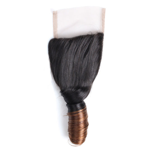 Tissage - Closure Brazilian REMY Hair Natural T2 Spring Free Style