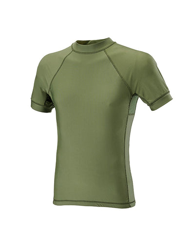 T-SHIRT SHORT SLEEVES LYCRA + MESH