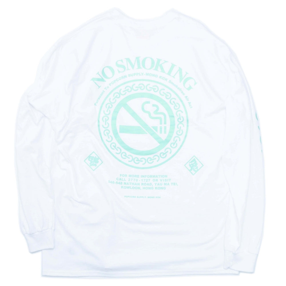 FUCKING RABBIT FxP LOGO NO SMOKING LT -WHITE