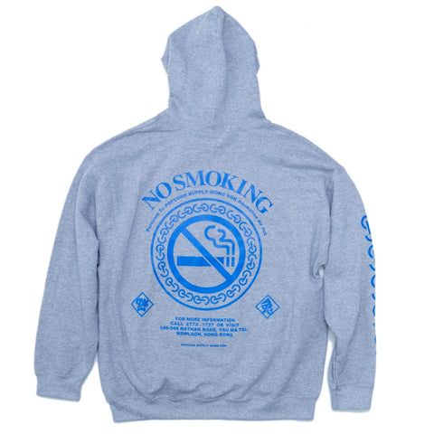 FUCKING RABBIT FxP LOGO NO SMOKING HO -GREY