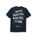 AntiSocialSocialClub NYC NAVY CITY TEE -NAVY