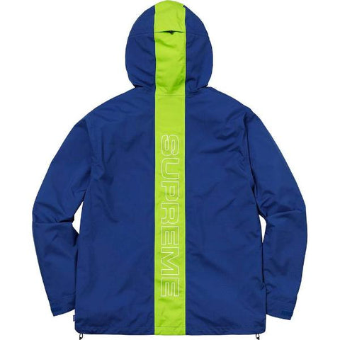 SUPREME TAPED SEAM JACKET -BLUE