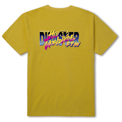 HUF HIGH SCORE S/S TEE -YELLOW