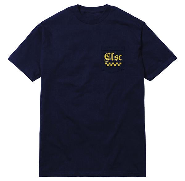 CLSC JALOPY POCKET TEE -NAVY