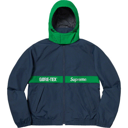 SUPREME GORE-TEX COURT JACKET -NAVY