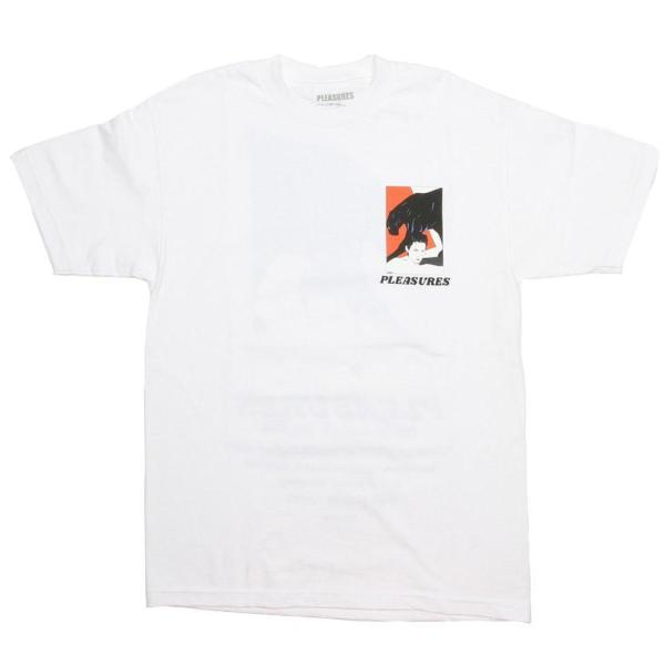 PLEASURES SALON T-SHIRT -WHITE