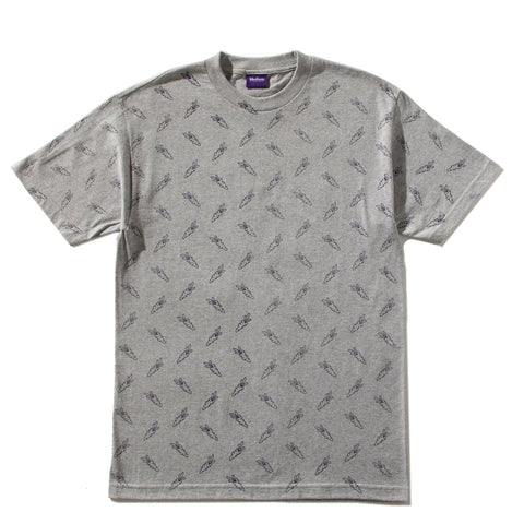 CARROTS ALL OVER CARROTS T-SHIRT -GREY
