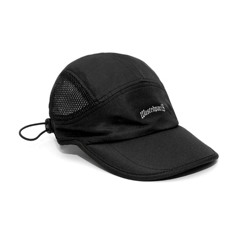 WASTED PARIS 6P CAP TECHNIC -BLACK