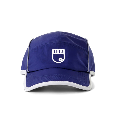 I LOVE UGLY Athletic Cap -BLUE
