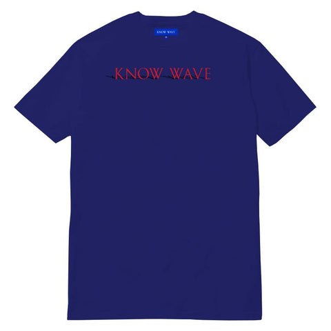 KNOW WAVE SHADOW STATE T -BLUE