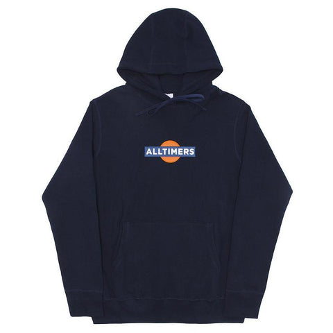 ALL TIMER HI CON PEACH HOODY -NAVY
