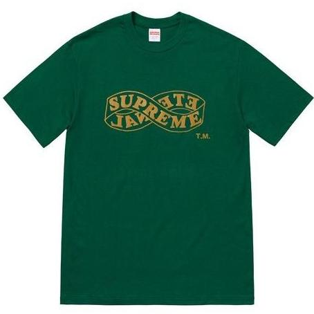 SUPREME ETERNAL TEE -GREEN